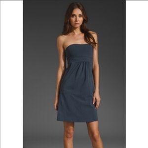 Susana Monaco strapless dress a-line with pockets